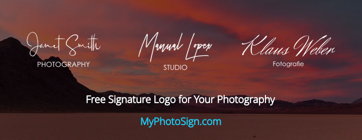 My Photo Sign - Free Photo Signatures